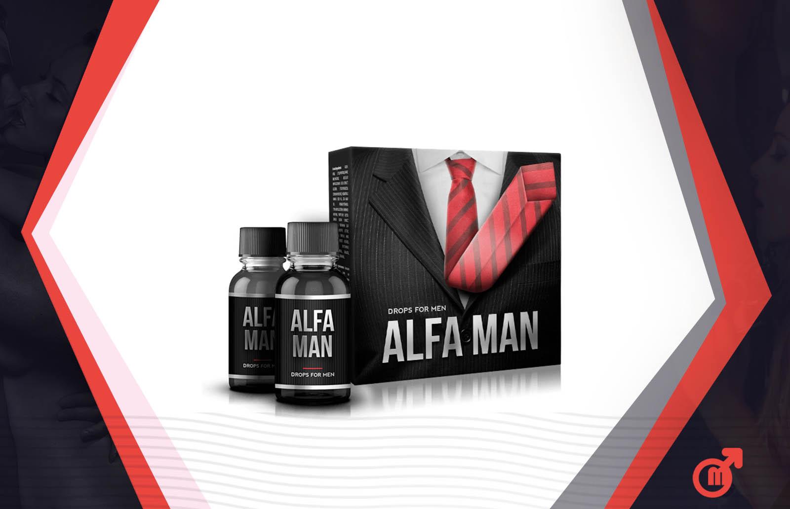 alfa man для повышения потенции